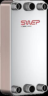 Schimbător de căldură SWEP DV400